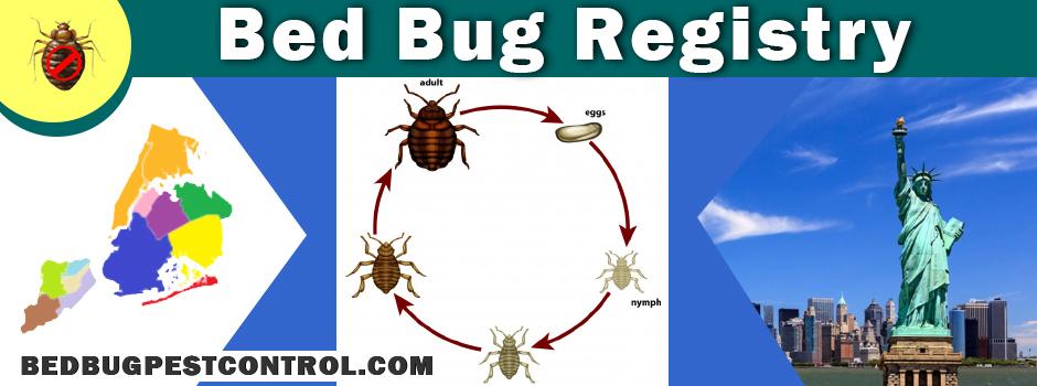 bed bug registry maps
